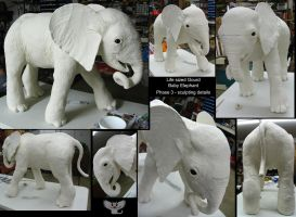 Elephant Gourd Phase 3 by ART-fromthe-HEART