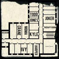 Arkham Room assignments by missjulia1
