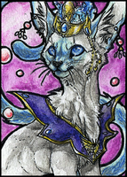 .:beautiful silver maiden:. by WhiteSpiritWolf