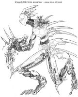 mecha inked by kina