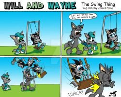 Swing Thing by JimmyCartoonist