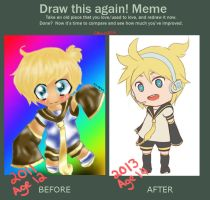 Draw this again : Len by CallMeIK