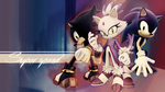 Super Speed Wallpaper (Shadow, Blaze and Sonic) by YamiMana