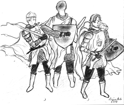 Knights surrounded by LesnaBuba