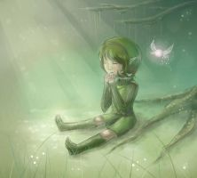 Would you like to talk to Saria? by Des-Kii
