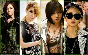2ne1 - Lonely by Sweetkrystyna