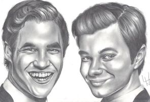 Kurt and Blaine :D by lozzastiltskin96