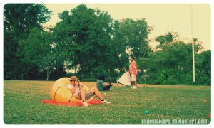 vintage picnic by eugeniaclara
