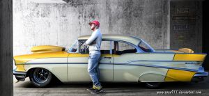 Chevy Bel Air 1957 by rOEN911