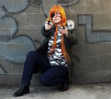 Badou from Dogs: Bullets and Carnage Cosplay by SSward
