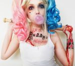 Harley Quinn Suicide Squad makeup cosplay by marymakeup