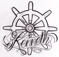Kenneth ship wheel by WillemXSM