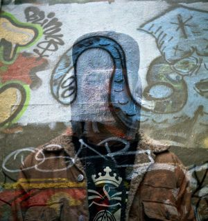 Graffiti Double Exposure by newjuventud