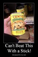 pizza in a can by TreborNehoc