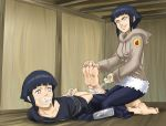 hinata gagged and hogtie up by MrAlex990