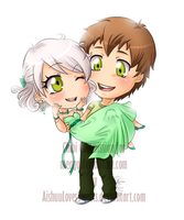 Chibi Commish for Meago by Aish89