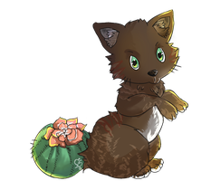 Cactuscat by Bellodie