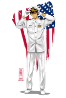 Kagami US Navy by Jeannette11