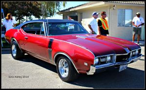 Olds 442 Badness by StallionDesigns