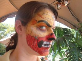 Face Paint- Torn face by Jshibby