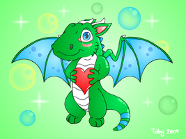 Dragon in Love by Toby512