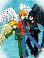 Maximum Ride Boys by SpiralNinja05