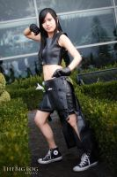 Tifa Lockhart - Defender of the Planet by CrystalMoonlight1