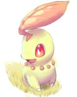 Shiny Chikorita by Pand-ASS