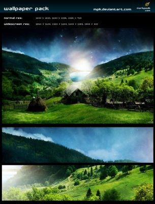hillside - wallpaper pack by mpk2
