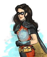 Asami as Robin by Mazrilin