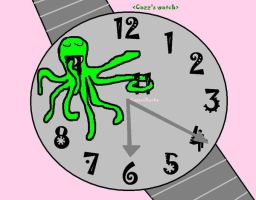 Octopus Time by CazzieRocka
