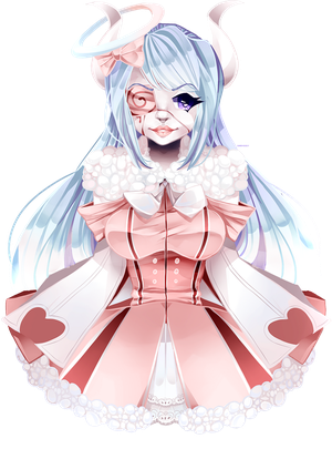 Evrina Auction Piece by CharmChi