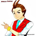 Apollo Justice - Peace from the Red Lawyer by Marini4
