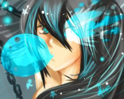 Fan Art - Black Rock Shooter by FuonShiro