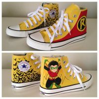 Robin Sneakers by breathless-ness