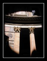 Pantheon columns by actress