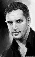 -Tom Hardy- by obsceneblue