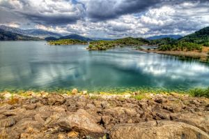 Lake Aoos, Greece by hdrgr