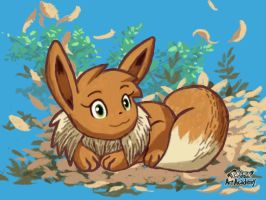 Mio The Eevee Try out no 2 On Pokemon Art Academy! by Zander-The-Artist