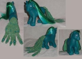 My Little Pony Custom Peacock by Ember-lacewing