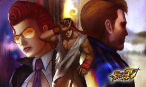 Street Fighter IV by masterchomic