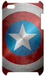 Captain America Shield Ipod Touch Case by KalEl7