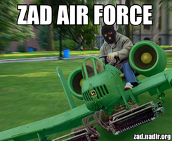 Zad air force by benzaden