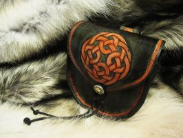 Celtic Knot Belt Pouch by TheScreamingNorth