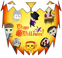 Month 3 - Halloween by SnowLady4Ever