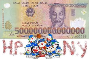 Here is the photo about dorabase money in Vietnam by Kido-taufan