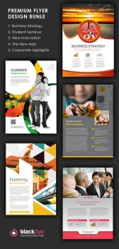 5 Corporate Flyers by TonyB3