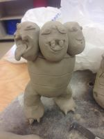 Exeggutor NOW WITH HEADS AND FACES! by FFPokeGhibli