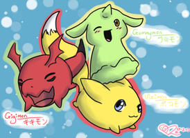 Digimon Tamers by LilMissRaffy