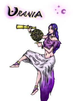 Greek Muses- Urania by lennydoll